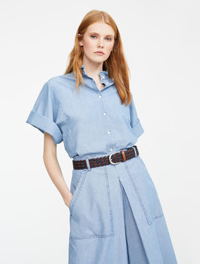 Camicia in denim di cotone Weekend Maxmara
