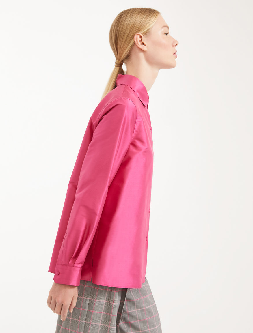 Camicia in shantung di seta Weekend Maxmara