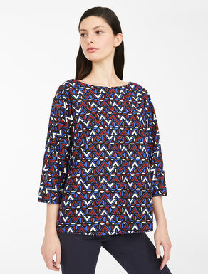 Blusa in popeline di cotone Weekend Maxmara