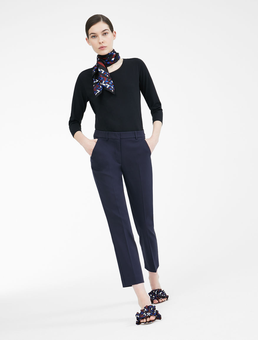 Cotton trousers Weekend Maxmara