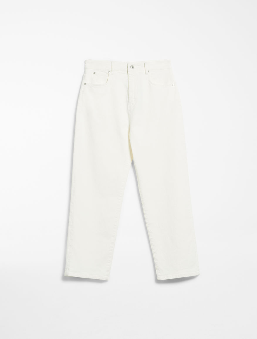 Straight fit bull cotton jeans Weekend Maxmara
