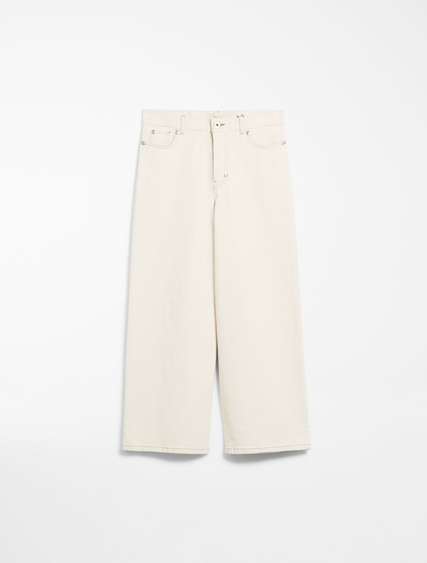 Bull cotton cropped jeans Weekend Maxmara