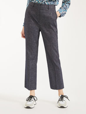 Pantaloni in lino e cotone Weekend Maxmara