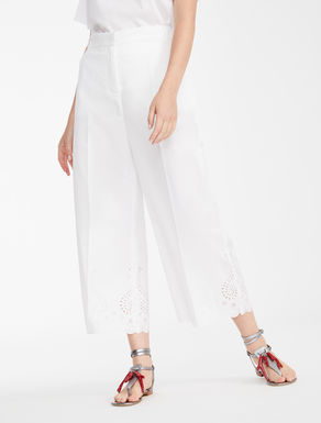 Pantaloni in twill di cotone Weekend Maxmara