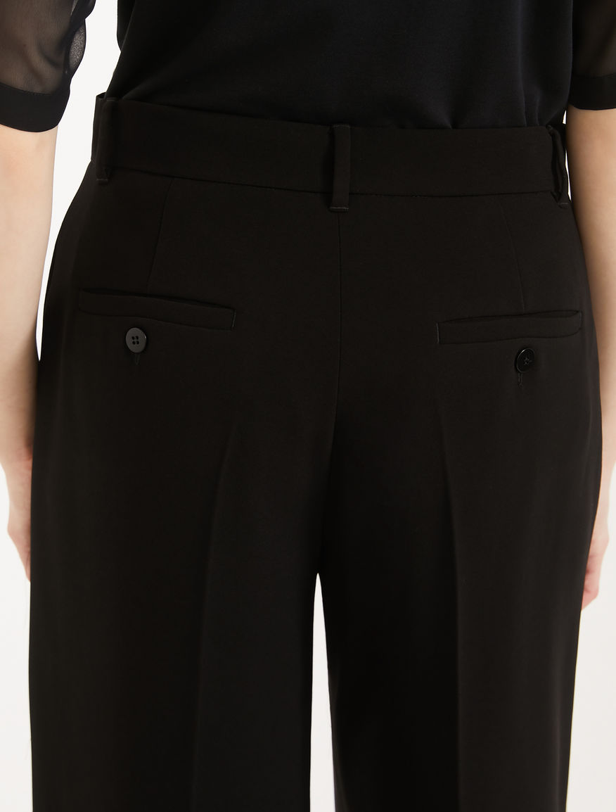 Fluid fabric trousers Weekend Maxmara