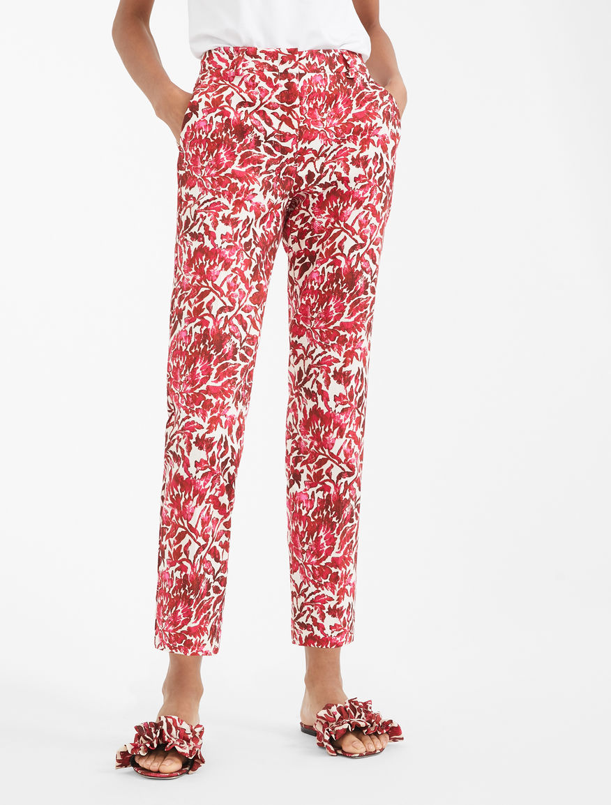 Cotton pique trousers Weekend Maxmara