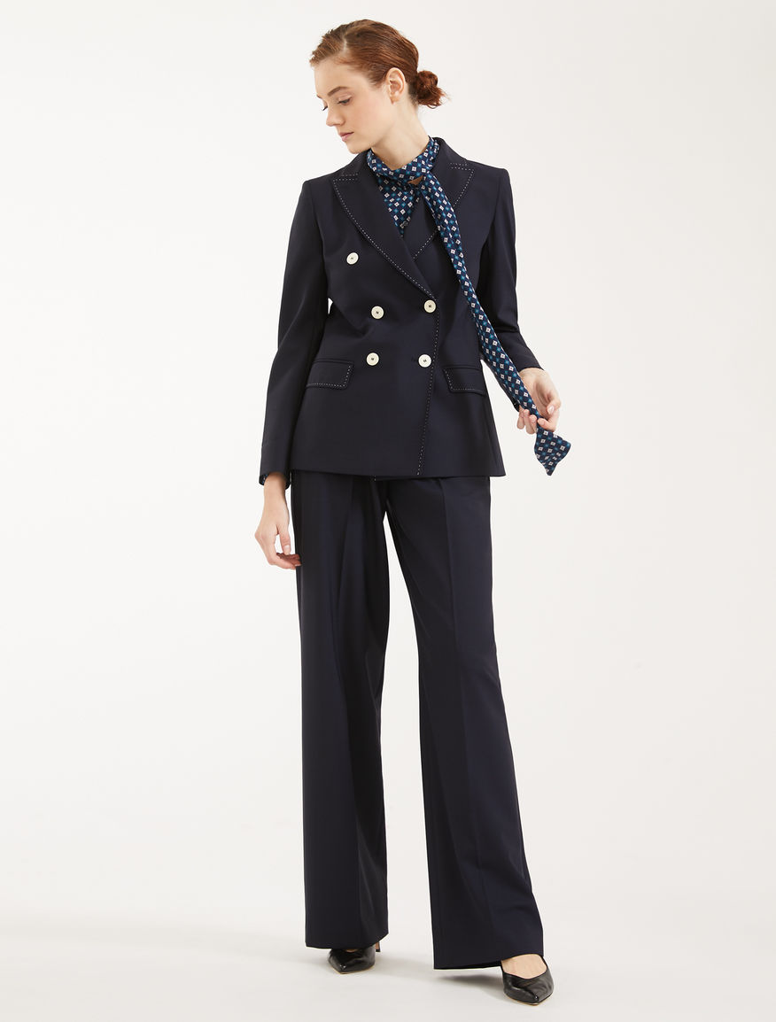 Plain weave trousers Weekend Maxmara
