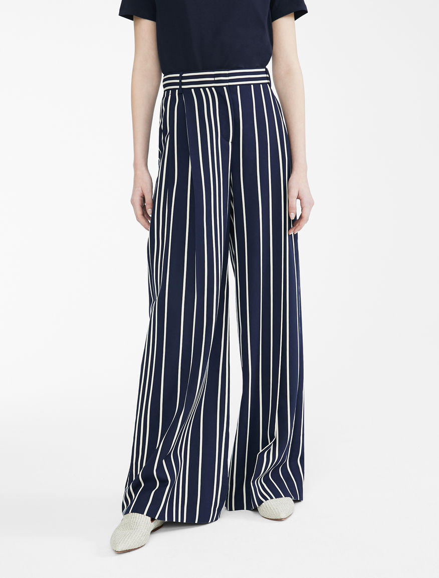 Viscose trousers Weekend Maxmara