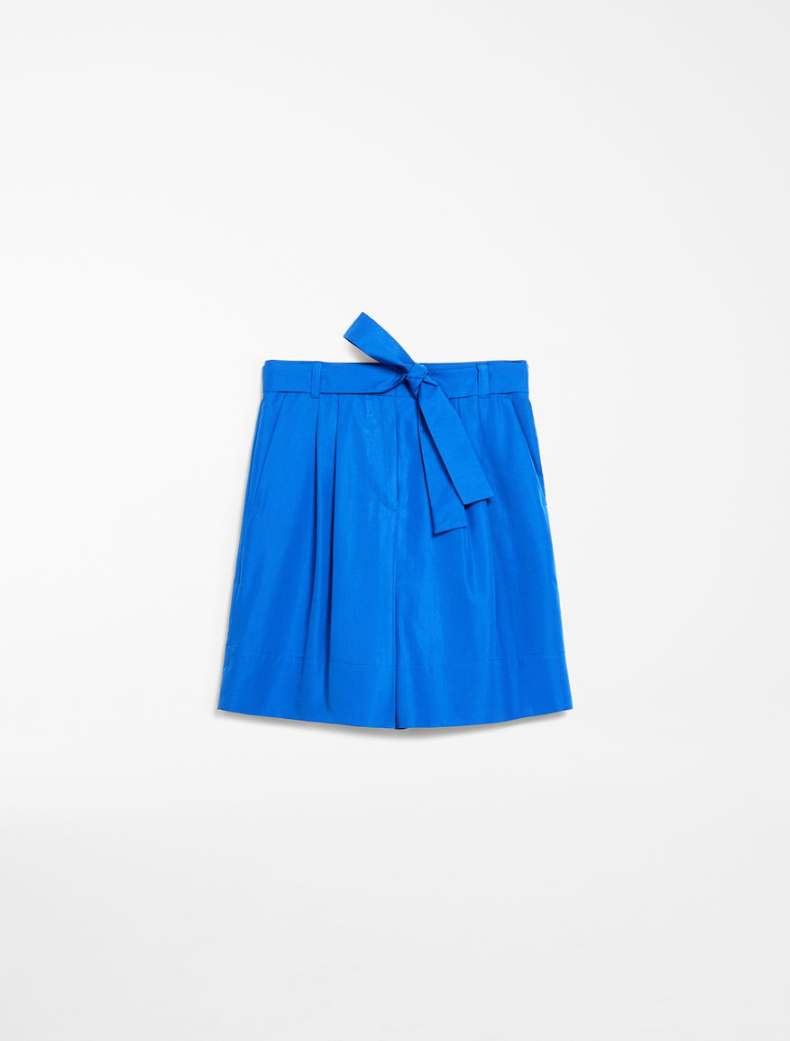 Cotton poplin bermuda shorts Weekend Maxmara