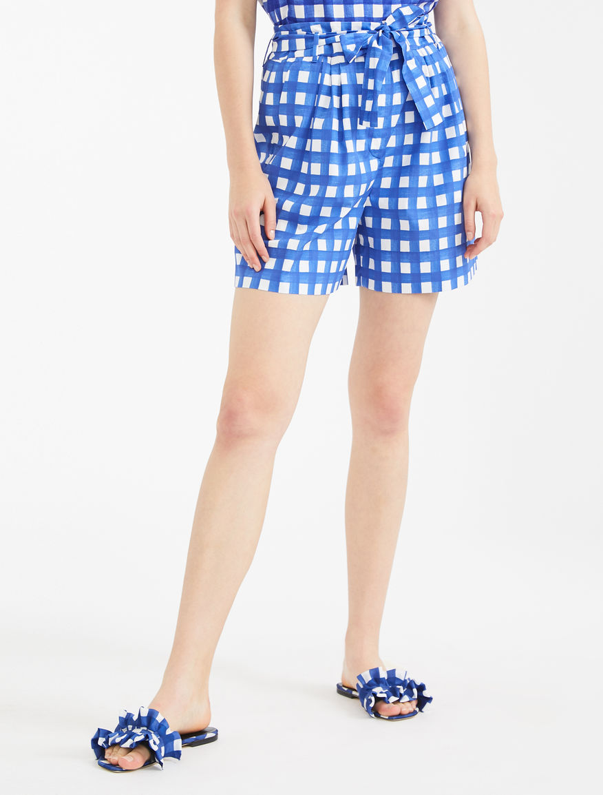 Cotton poplin shorts Weekend Maxmara