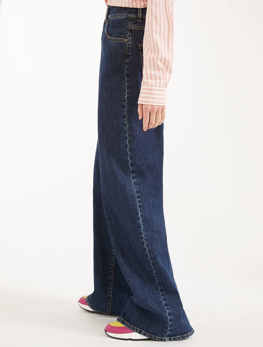 Cotton denim loose fit jeans Weekend Maxmara