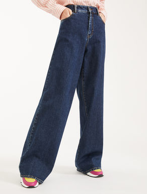 Jeans ampi in denim di cotone Weekend Maxmara