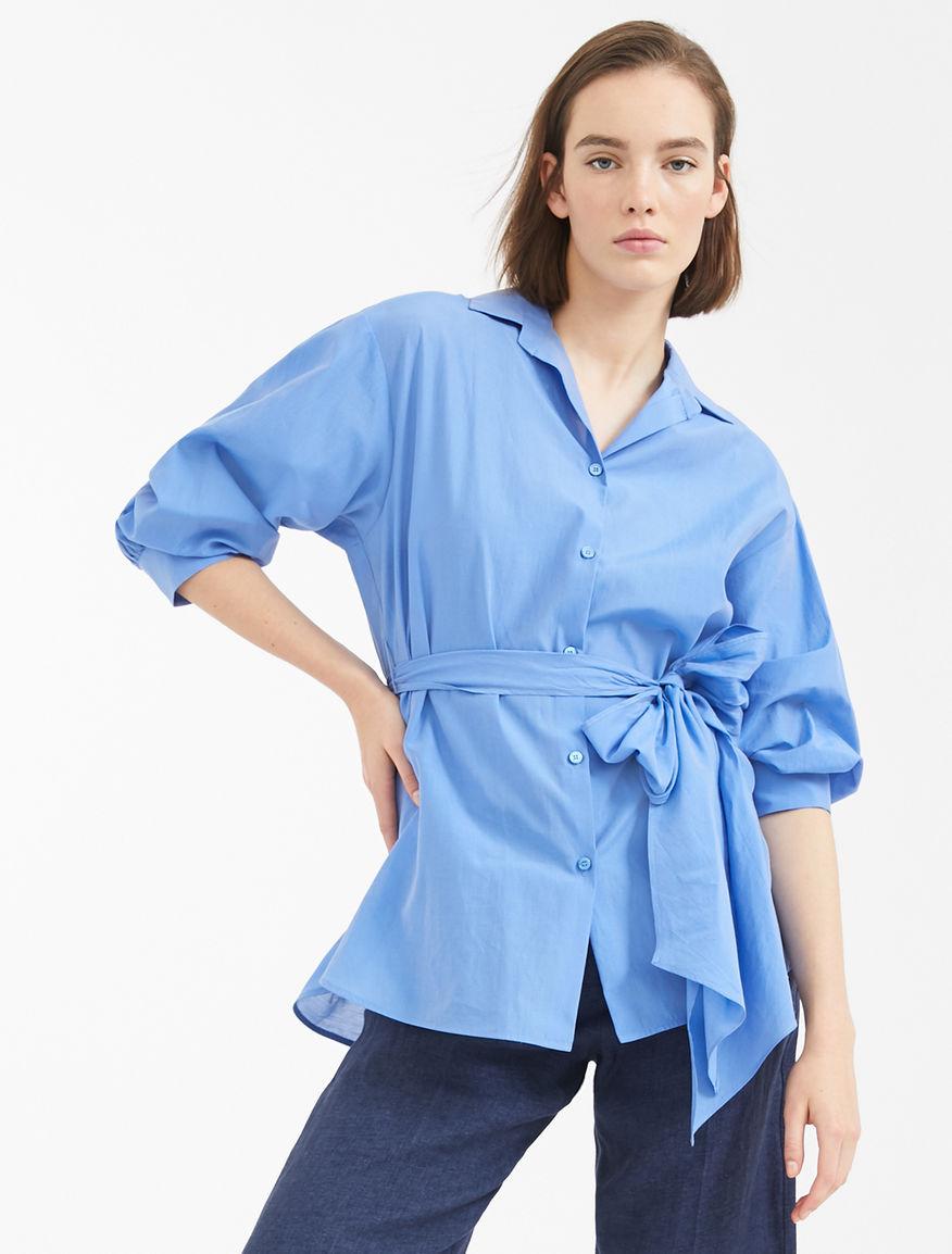 Silk and cotton canvas shirt Weekend Maxmara
