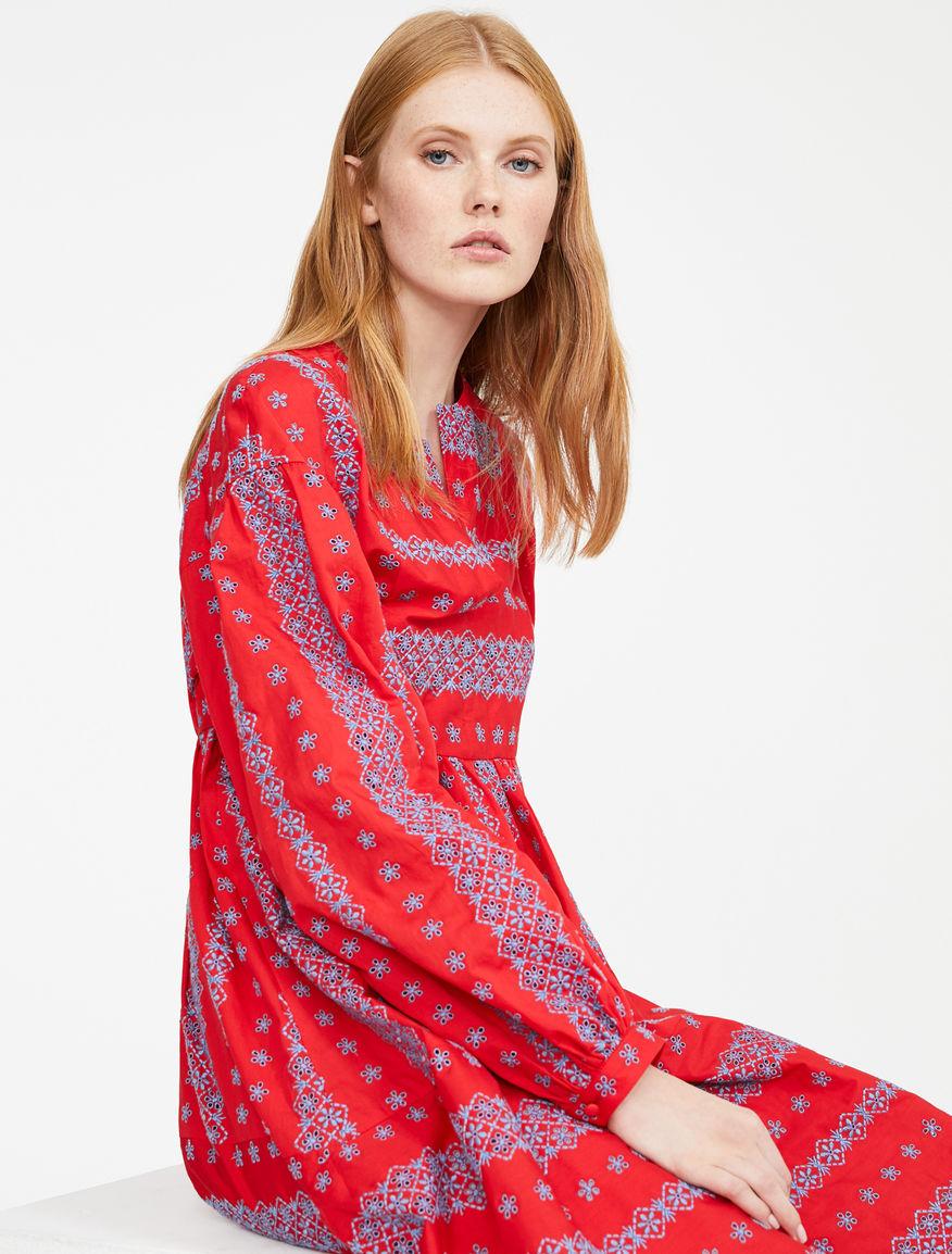 Embroidered poplin dress Weekend Maxmara