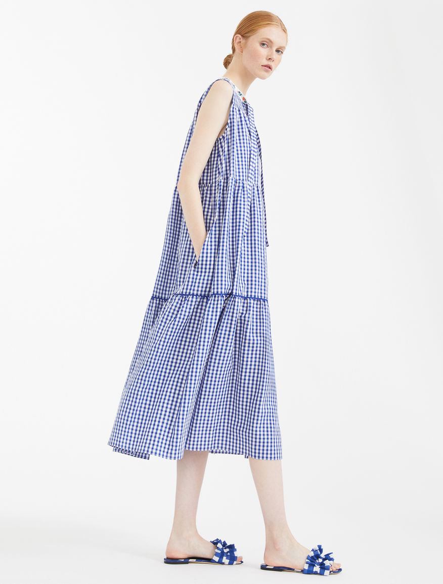 Linen and cotton canvas dress Weekend Maxmara