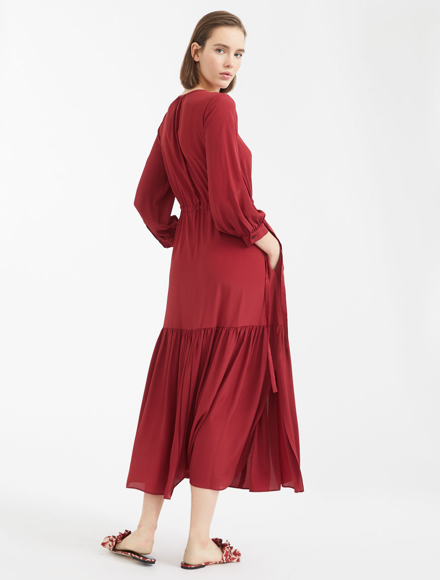 Crepe de chine dress Weekend Maxmara