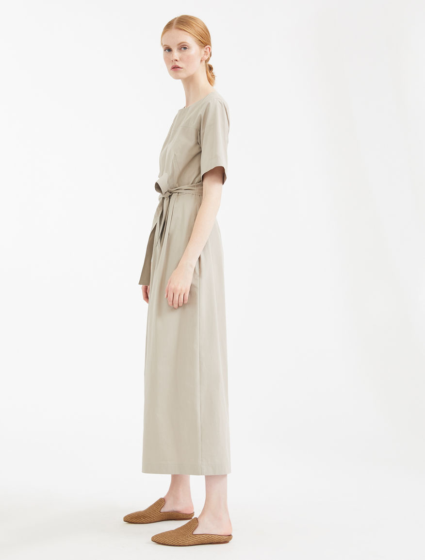 Cotton canvas jumpsuit Weekend Maxmara