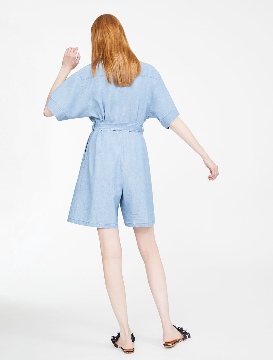 Cotton denim jumpsuit Weekend Maxmara