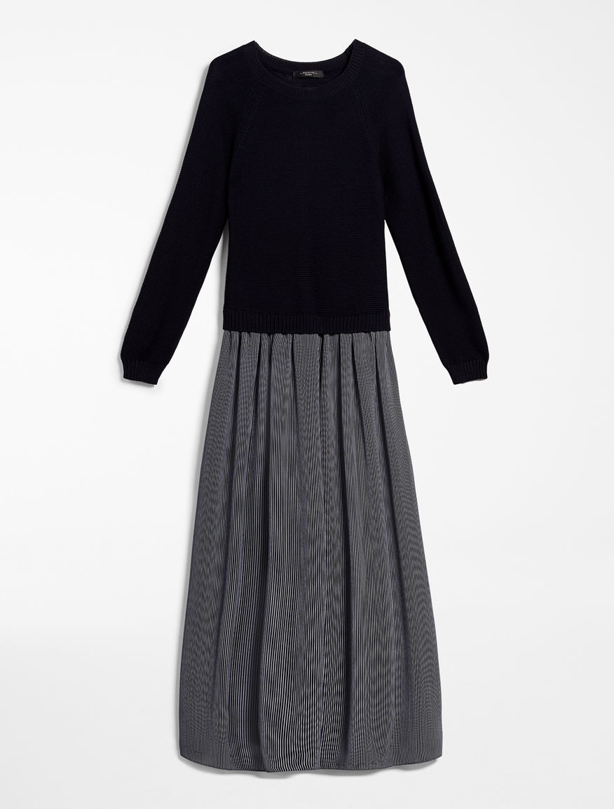 Georgette and cotton dress Weekend Maxmara