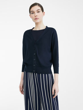 Cotton and silk yarn cardigan Weekend Maxmara