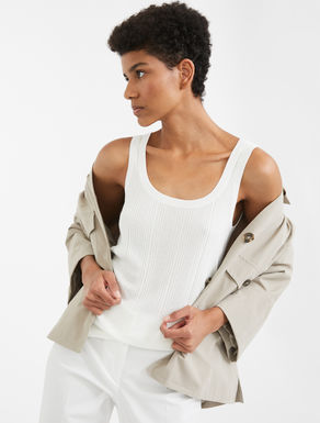 Viscose yarn top Weekend Maxmara