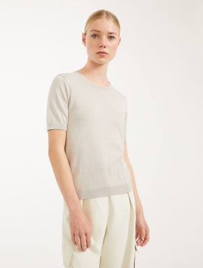 Cotton and silk yarn jumper Weekend Maxmara