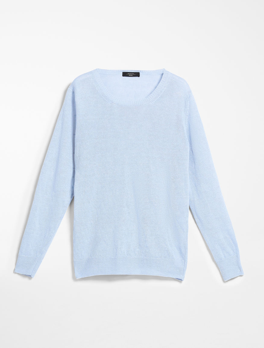 Linen cordonet jumper Weekend Maxmara