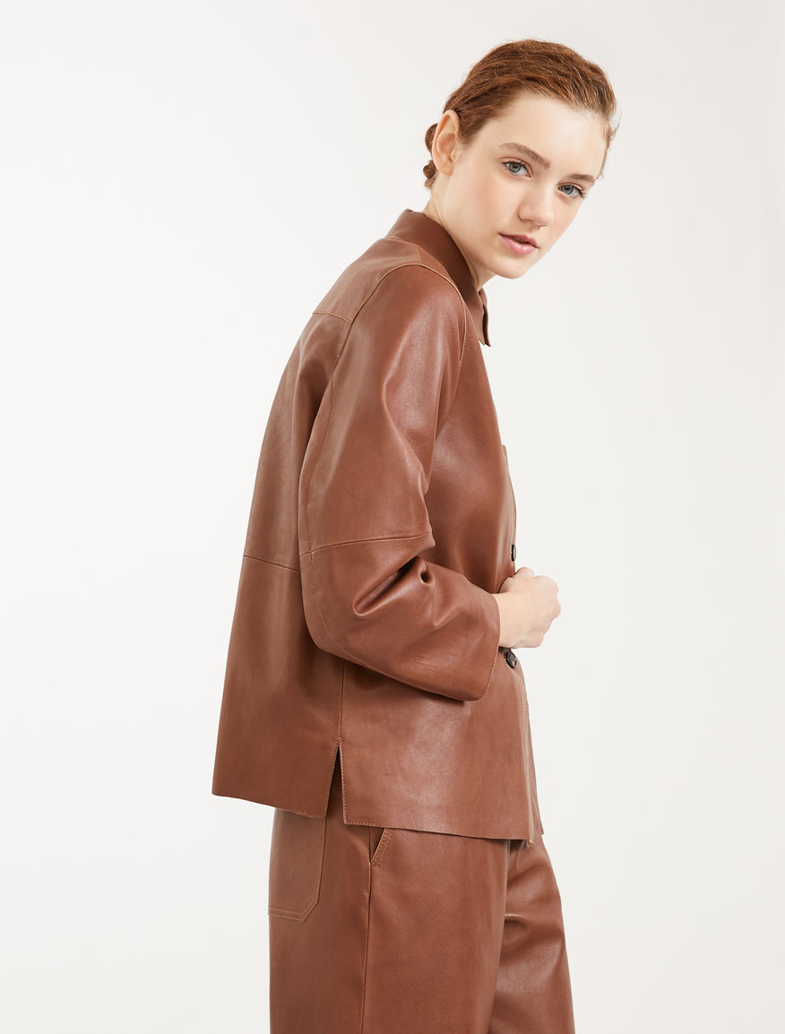 Nappa leather jacket Weekend Maxmara