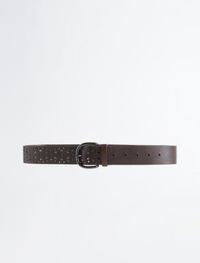 Lasered leather belt Weekend Maxmara