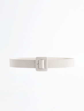 Lizard print leather belt Weekend Maxmara