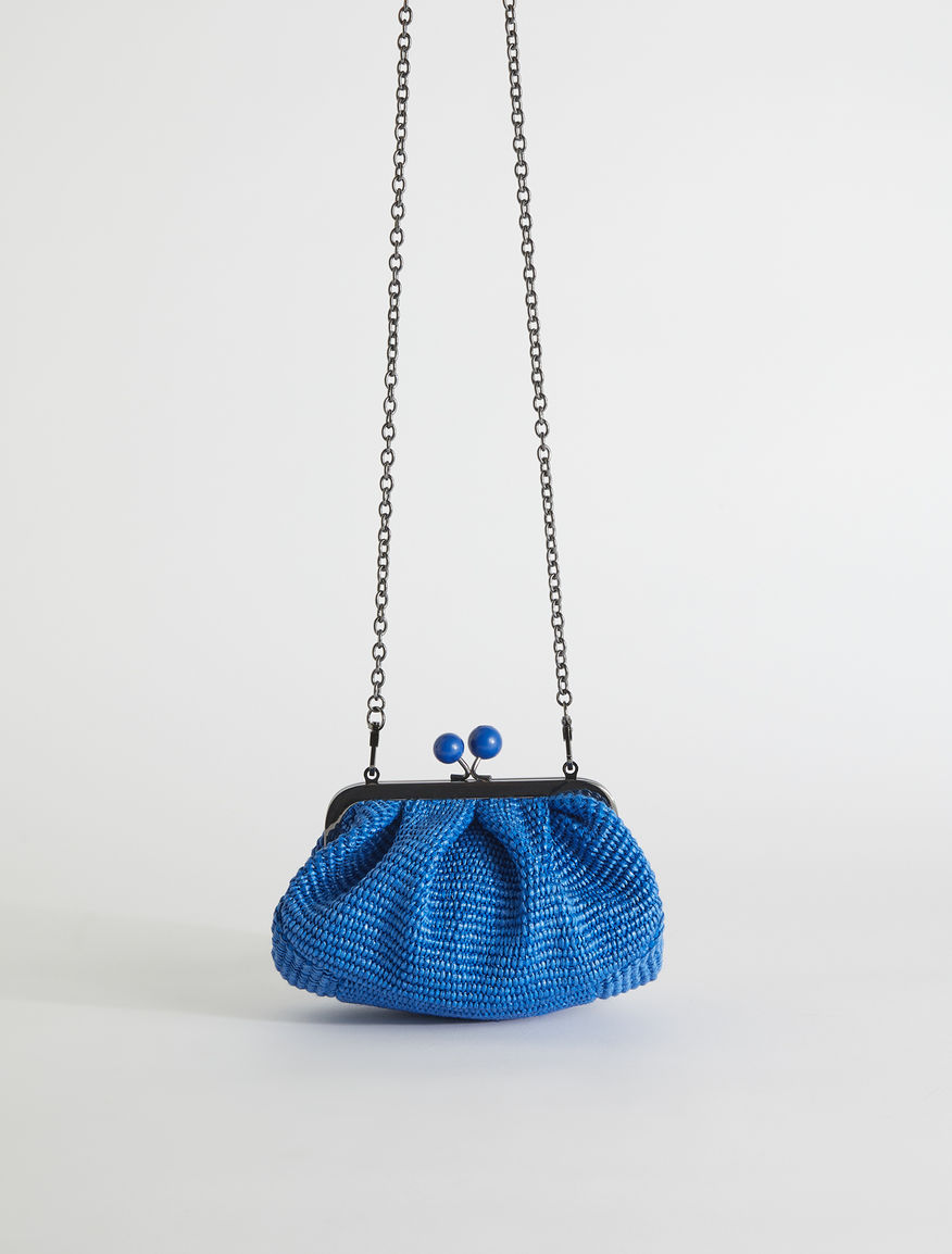 Mini raffia Pasticcino Bag Weekend Maxmara