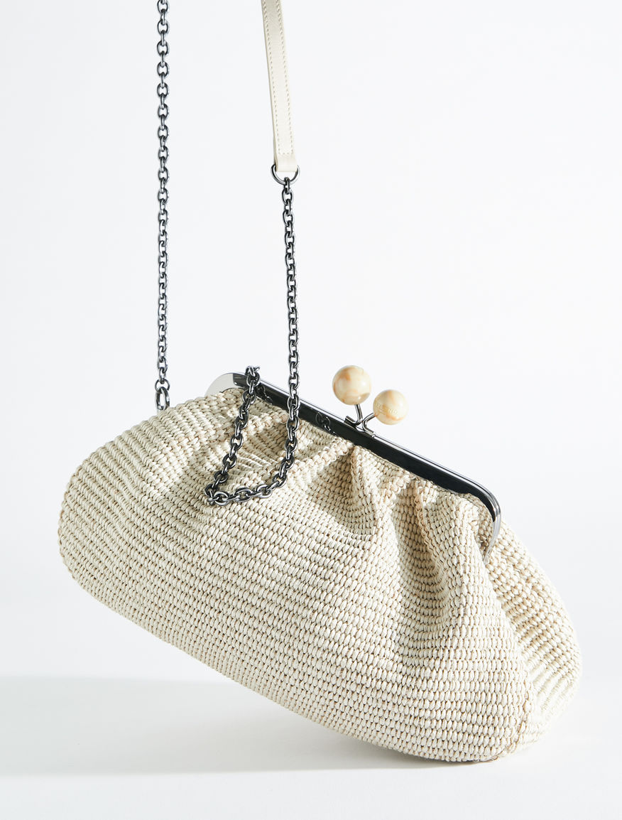 Medium raffia Pasticcino Bag Weekend Maxmara