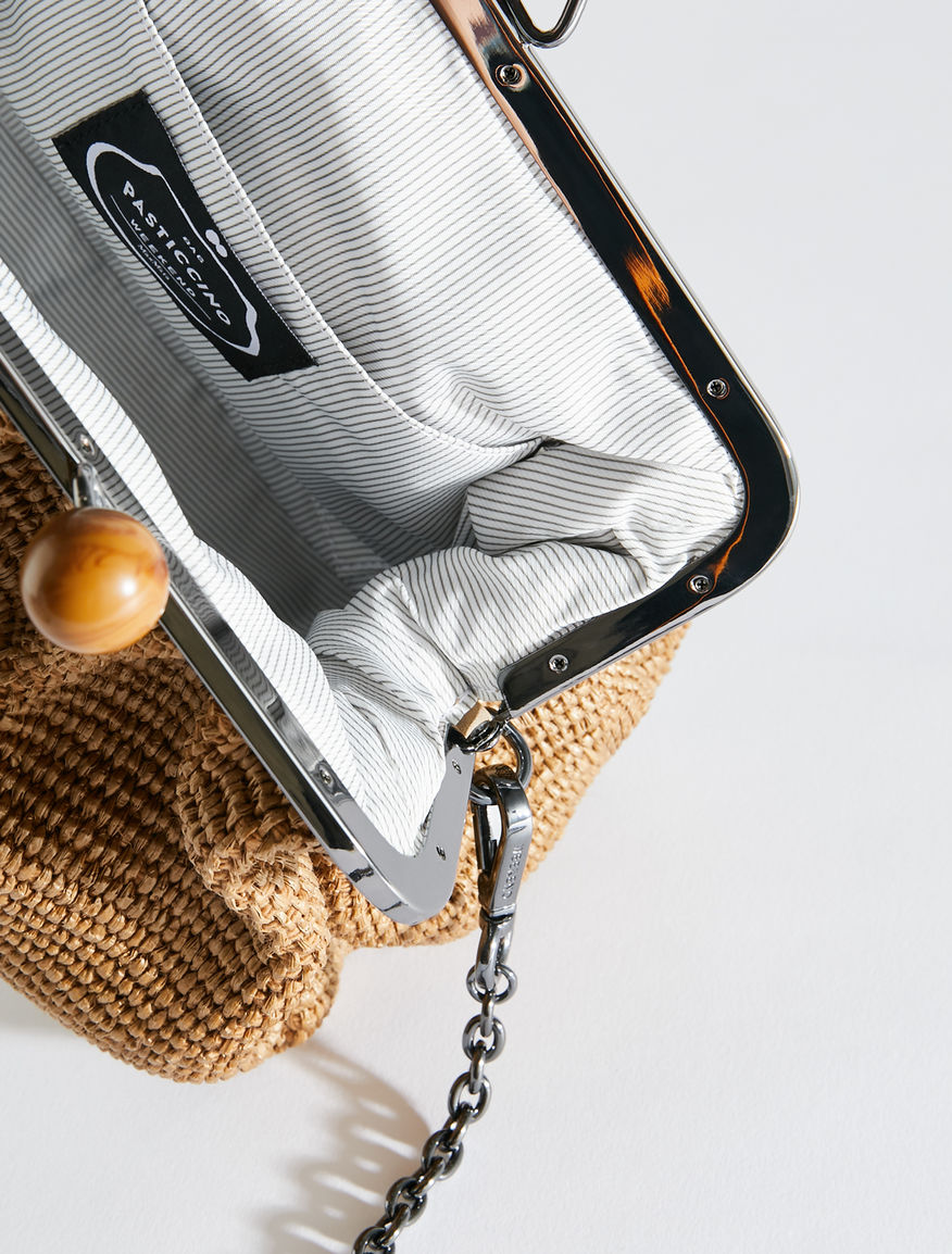 Medium raffia Pasticcino Bag Weekend Maxmara