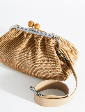 Pasticcino Bag medium in rafia Weekend Maxmara