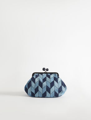 Pasticcino Bag medium in denim patchwork Weekend Maxmara