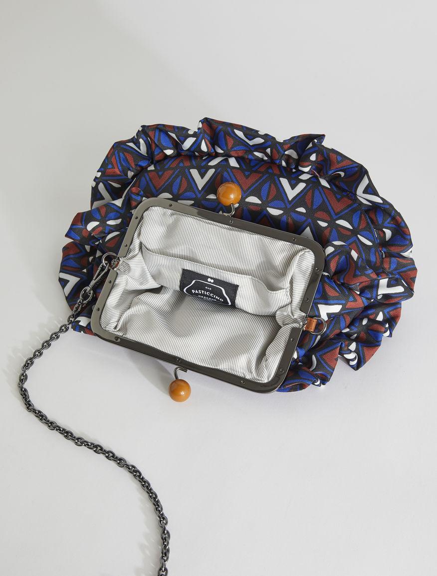Pasticcino Bag medium in twill stampato Weekend Maxmara