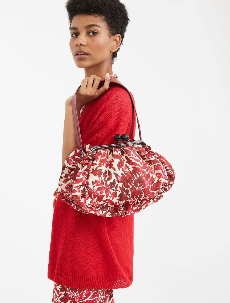 Medium Pasticcino Bag in printed twill Weekend Maxmara