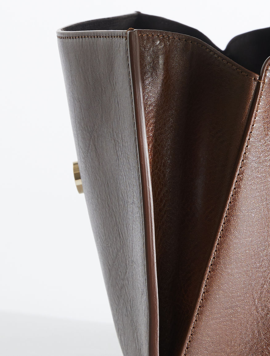 Leather bauletto bag Weekend Maxmara