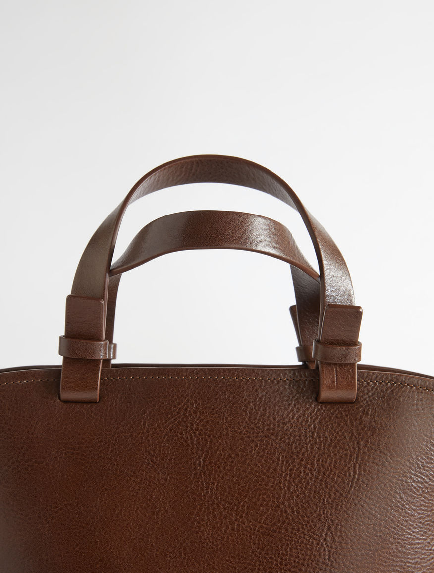 Leather shopper bag Weekend Maxmara