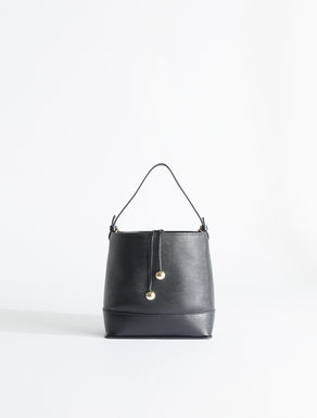 Lady bucket bag in lizard print leather Weekend Maxmara