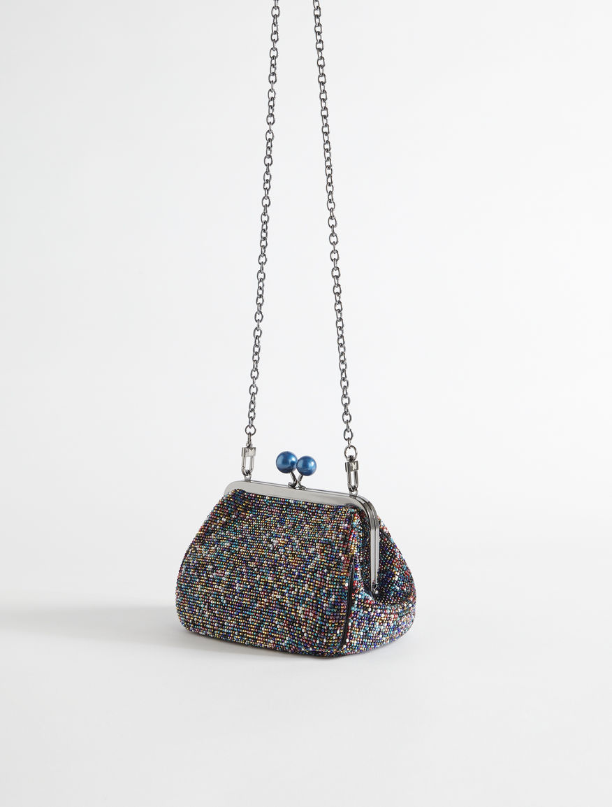 Mini Pasticcino Bag with beads Weekend Maxmara