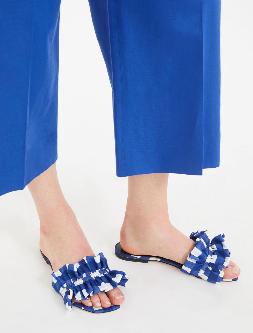 Technical twill sandals Weekend Maxmara