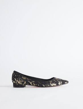 Jacquard fabric ballet flat Weekend Maxmara