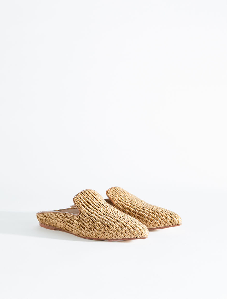 Raffia mules Weekend Maxmara