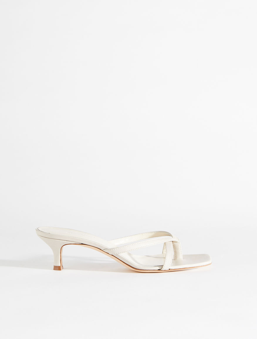 Nappa leather sandals Weekend Maxmara