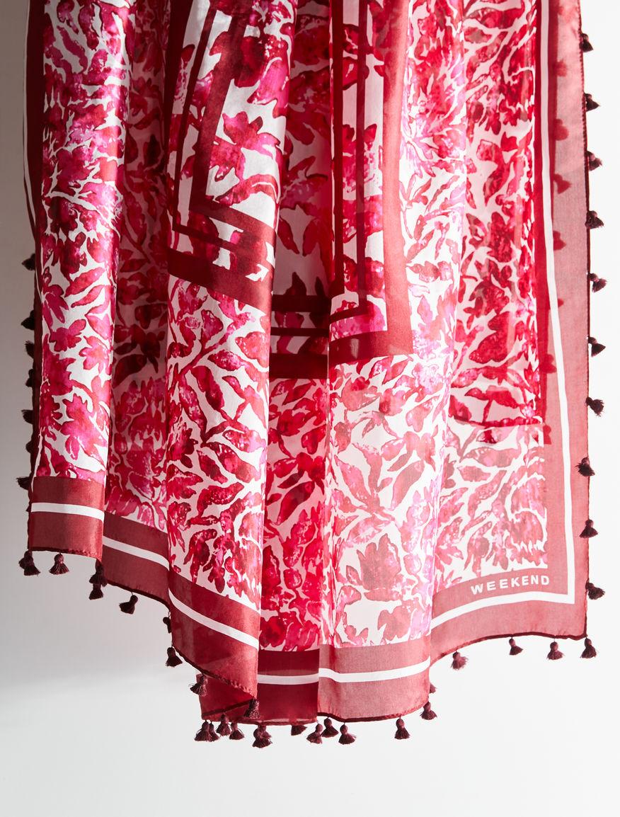Silk shawl with tassels Weekend Maxmara