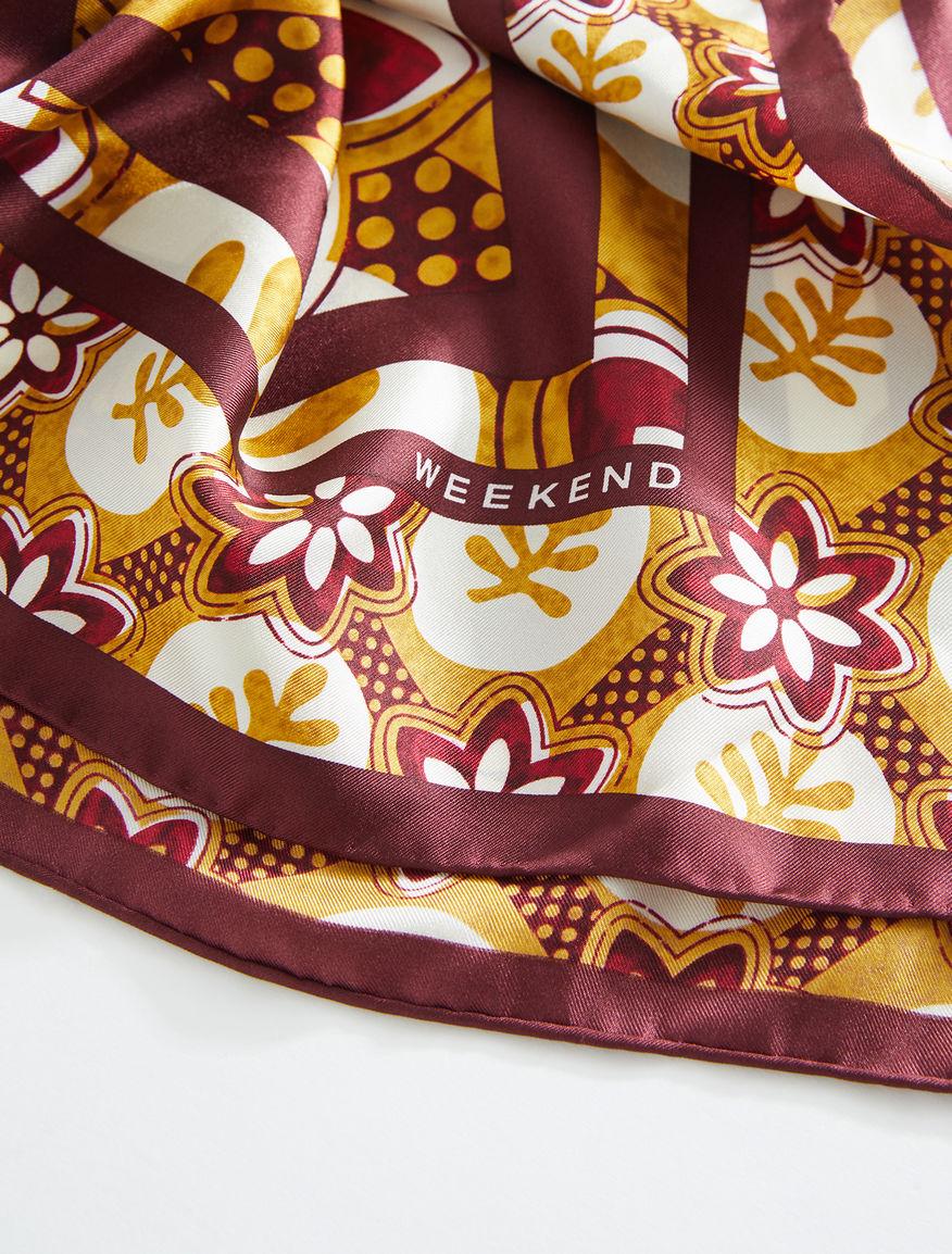 Silk foulard Weekend Maxmara