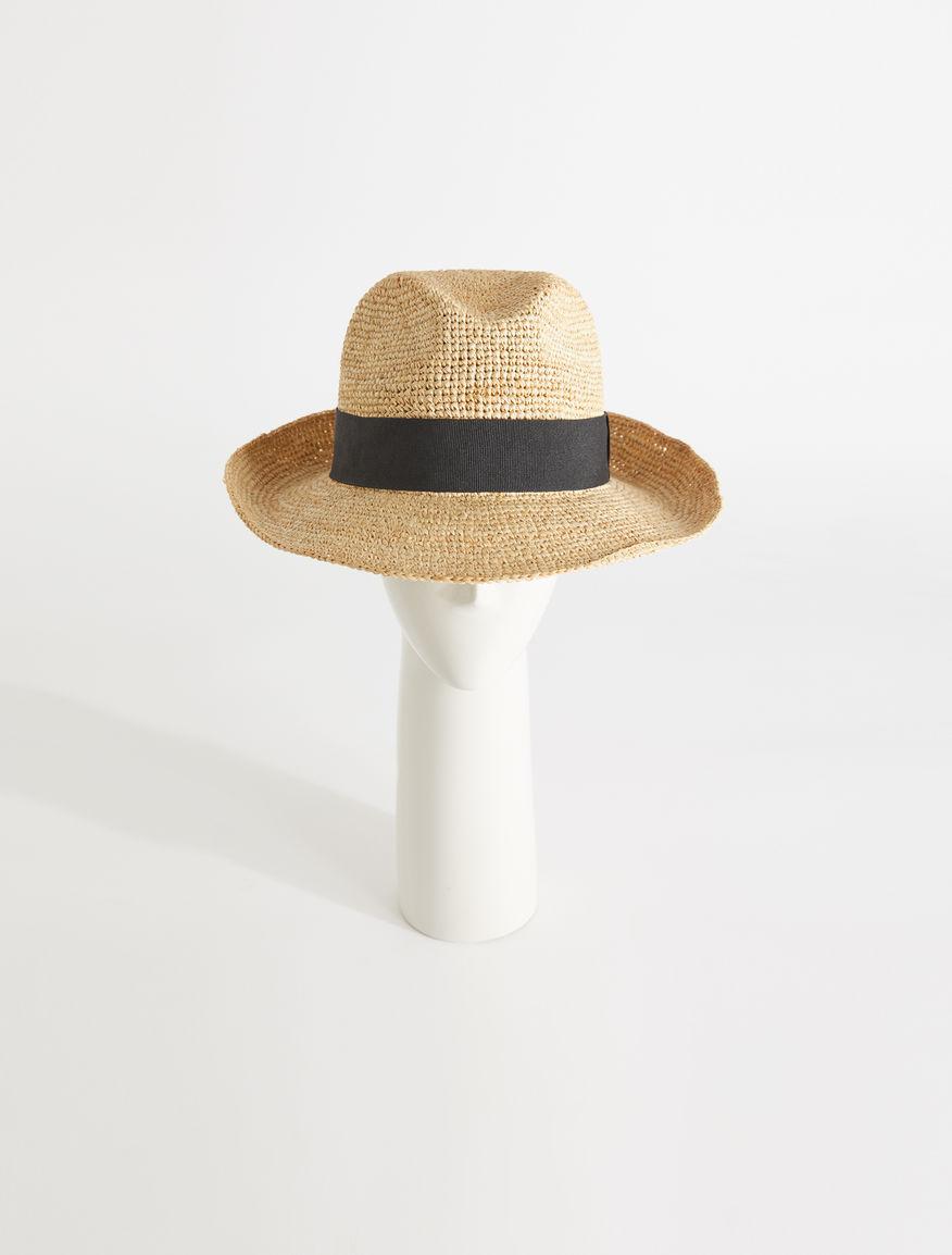 Panama hat in woven raffia Weekend Maxmara