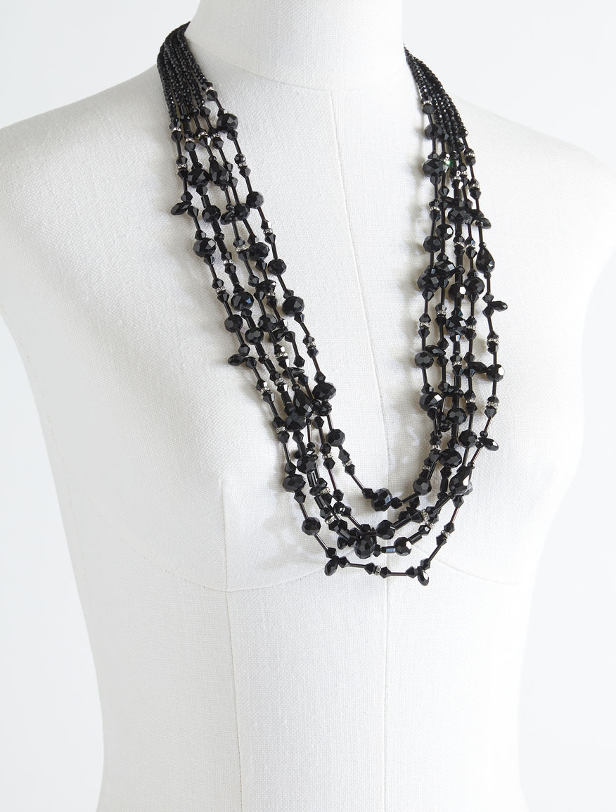 Multi-strand glass necklace Weekend Maxmara