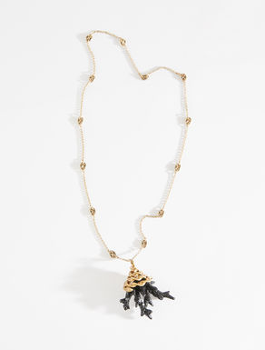 Collana con ciondolo corallo Weekend Maxmara